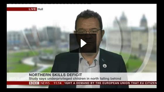 ENL UTC Principal Marc Doyle live BBC News