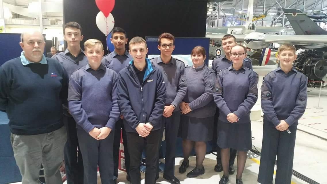 The RAF National Engineering Competition Finalists