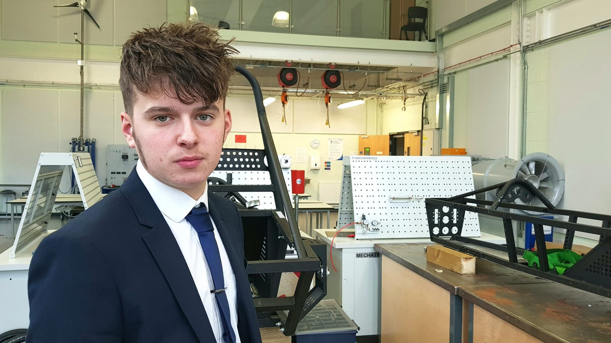 Meet the Students - Luke, Year 12 | Engineering UTC Northern