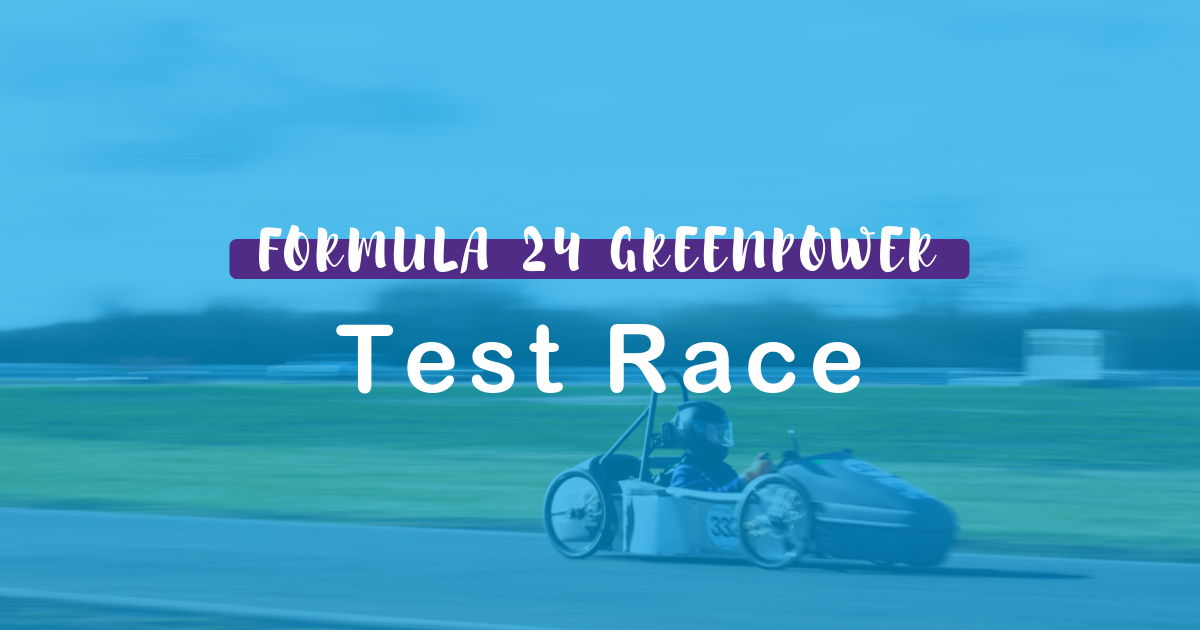 Formula 24 Greenpower, Blyton Test Race