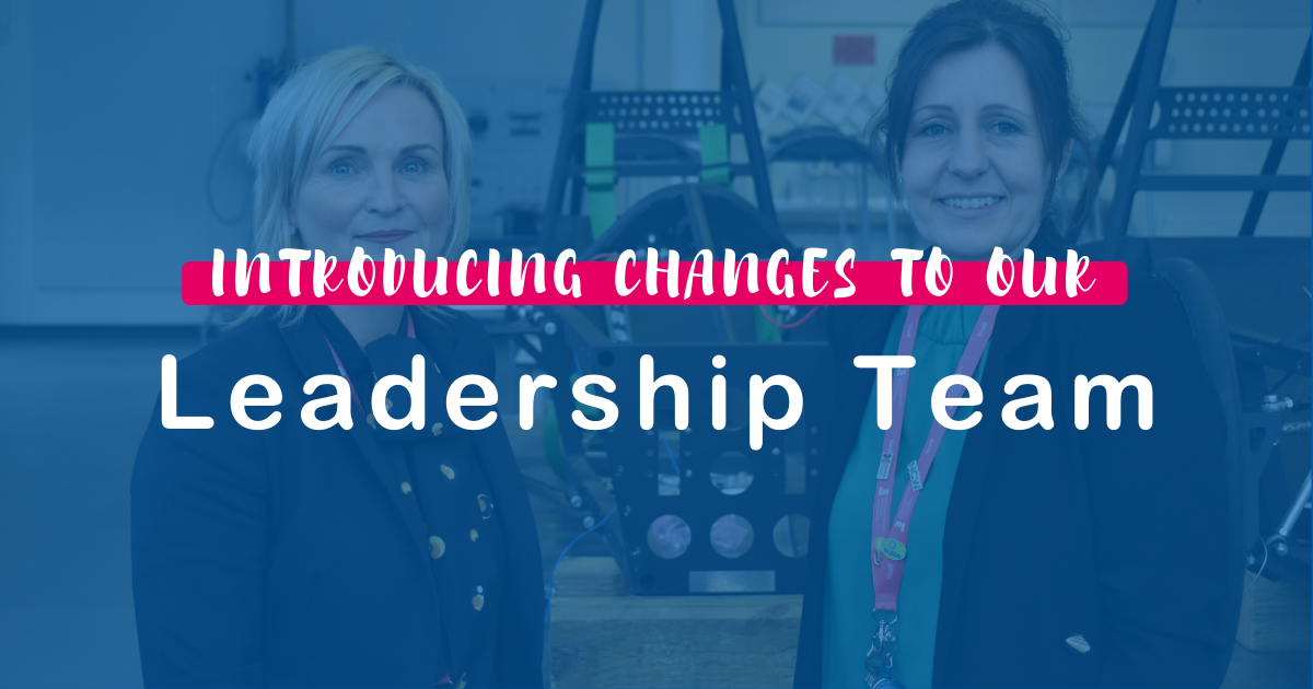Changes to our Leadership